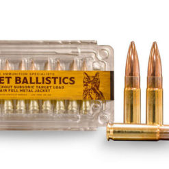 300 AAC Blackout 190gr Subsonic Load Target