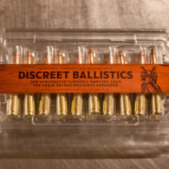 308 Winchester 188gr Subsonic Load Hunting